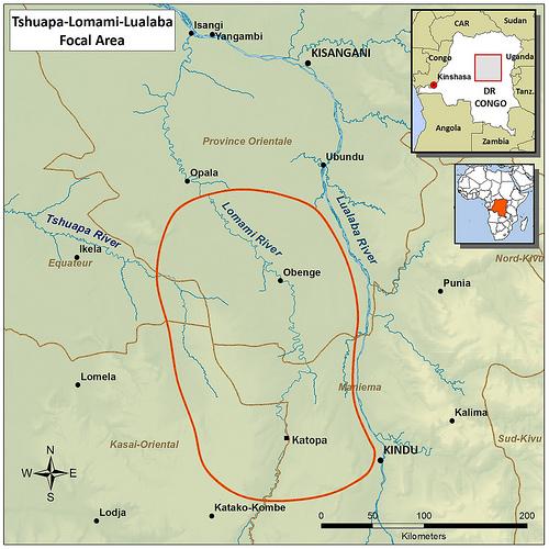 Obenge Map