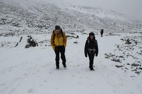 Hiking-lobuche