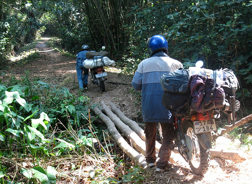Motorcycle trek