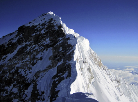 Everest Summit from South Summit