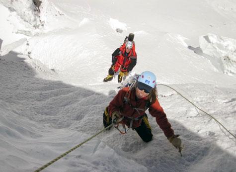 Base of the Lhotse Face